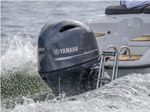 Yamaha F80DETX